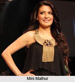 Mini Mathur Mathur Indian TV Anchor