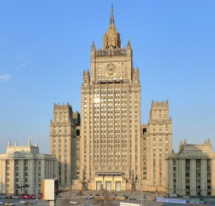 Ministry of Foreign Affairs (Russia) FileMinistry of Foreign Affairs Russia2jpg Wikimedia Commons