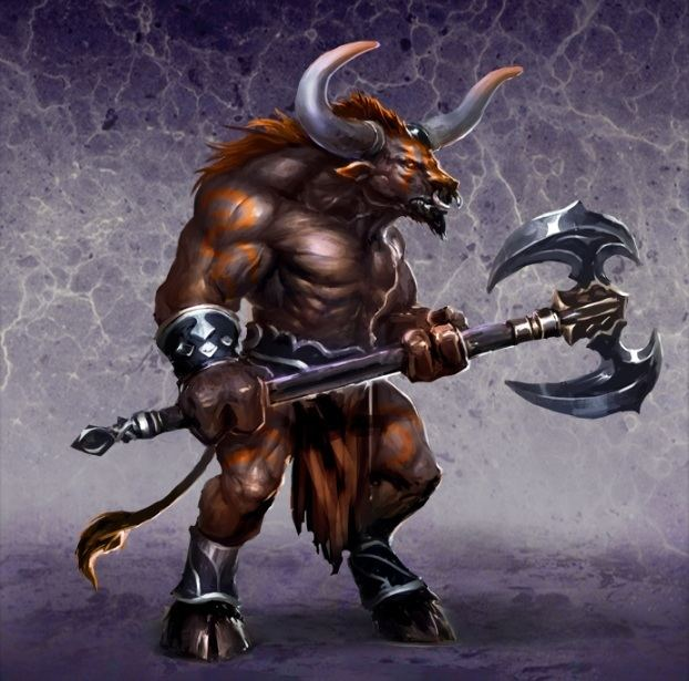 Minotaur Minotaur Minotaur Guard The Dungeon units Might amp Magic