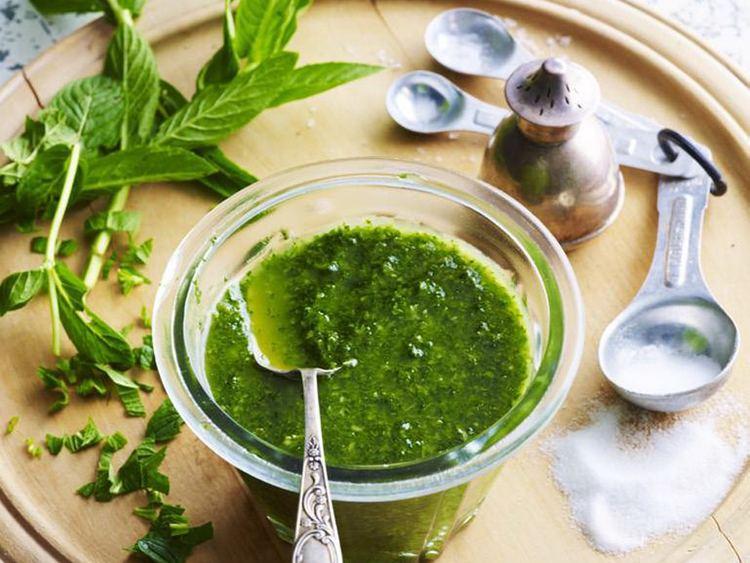 Mint sauce Homemade mint sauce recipe Food To Love