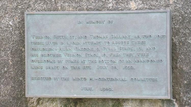 Minto Stone FileMinto Memorial Stone Inscription Minto New Brunswickjpg
