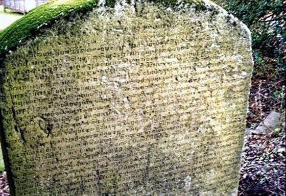 Minto Stone Prasasti Sangguran 39Minto Stone39 yang 2 Abad Telantar di Inggris