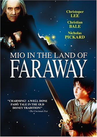 Mio in the Land of Faraway Amazoncom Mio in the Land of Faraway Nick Pickard Christian Bale