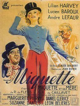 Miquette (1940 film) movie poster