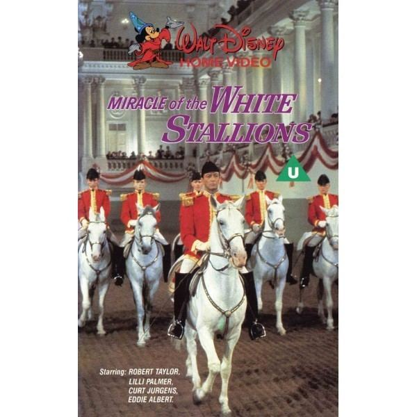Miracle of the White Stallions Miracle of the White Stallions 1963 Movie VHS Disney