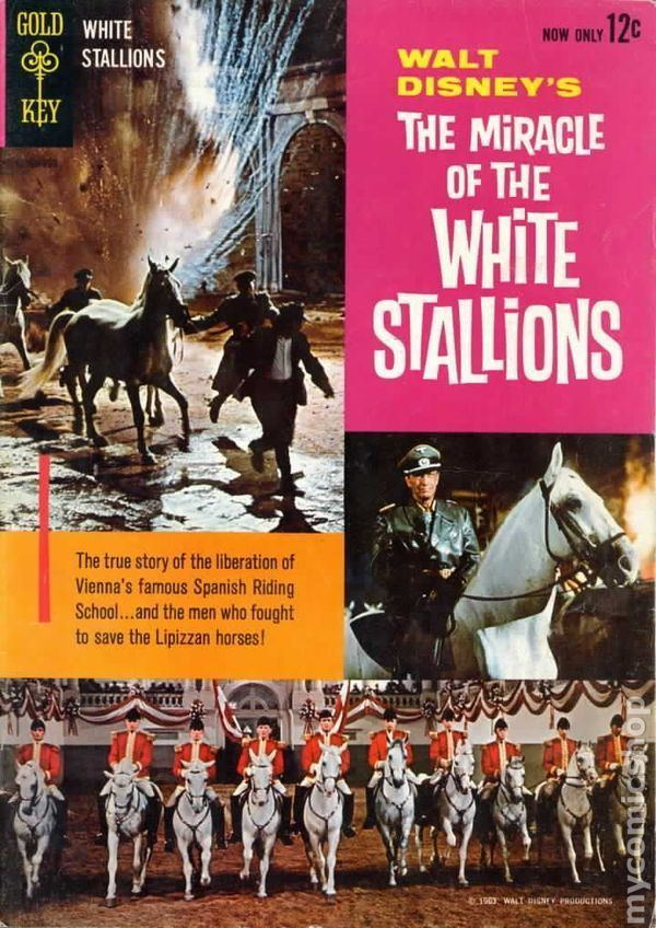 Miracle of the White Stallions Miracle of the White Stallions 1963 Movie Comics comic books