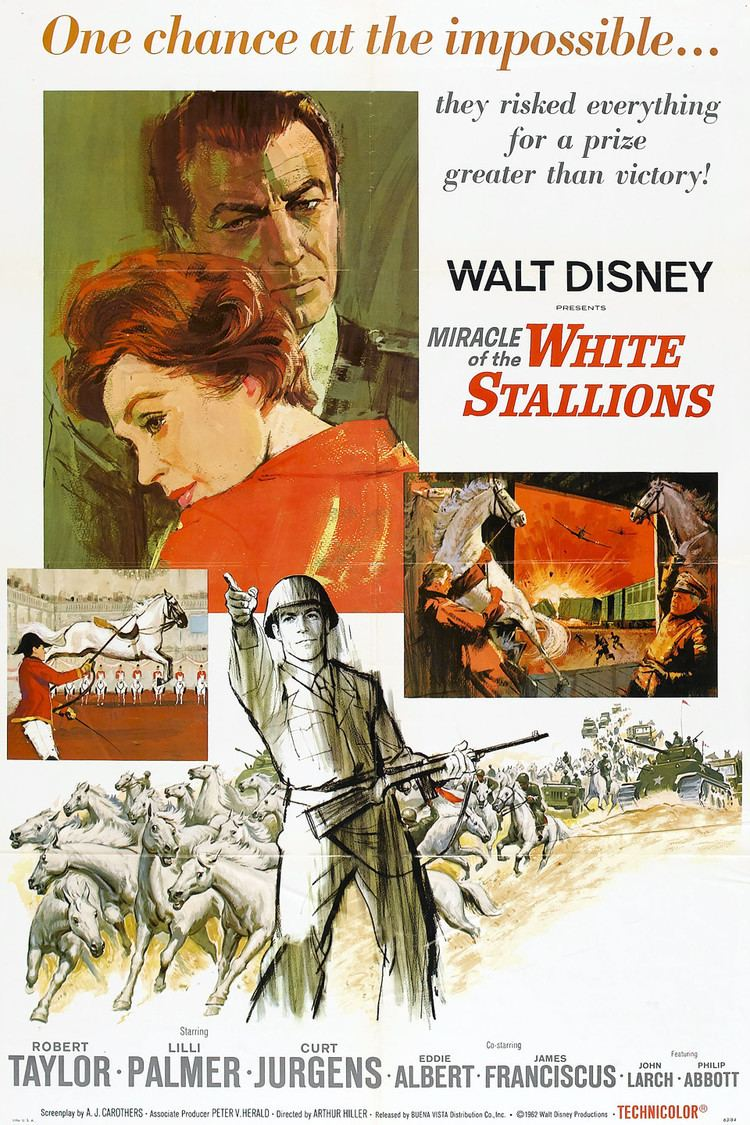 Miracle of the White Stallions wwwgstaticcomtvthumbmovieposters8061p8061p