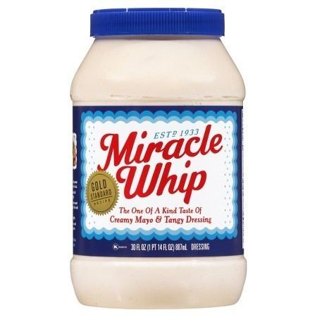 Miracle Whip Kraft Miracle Whip Dressing Original 30oz Target