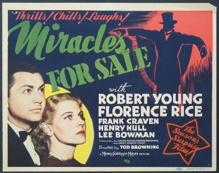 Miracles for Sale Miracles For Sale 1939 Noahs Archives