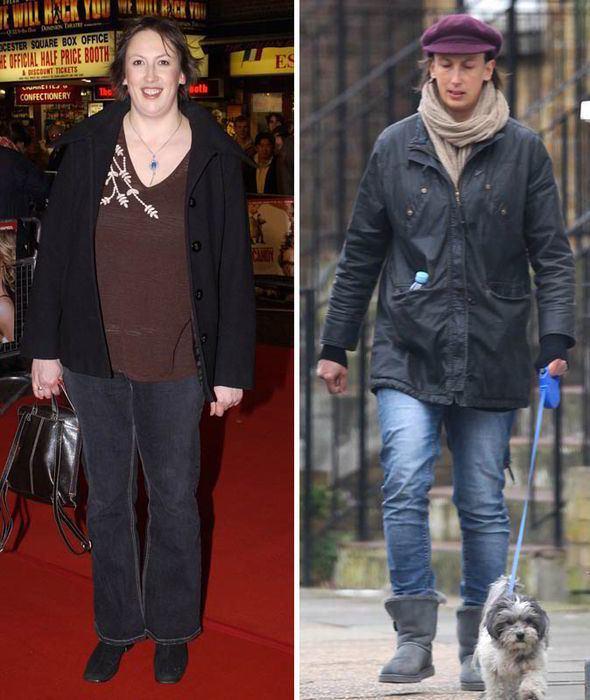 Miranda Hart Miranda Hart shows off weight loss while dog walking Celebrity