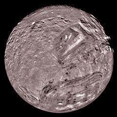 Miranda (moon) Miranda moon of Uranus The Solar System on Sea and Sky