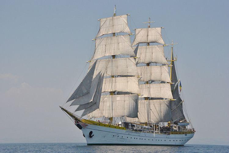 Mircea (ship) Mircea Regata Marilor Veliere 2016