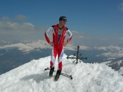 Mirco Mezzanotte SPORTRENTINOIT La sfida di Mirco Mezzanotte fra corsa sci e