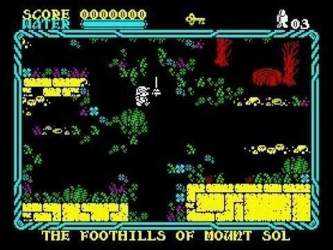 Mire Mare Land of Mire Mare Walkthrough ZX Spectrum YouTube