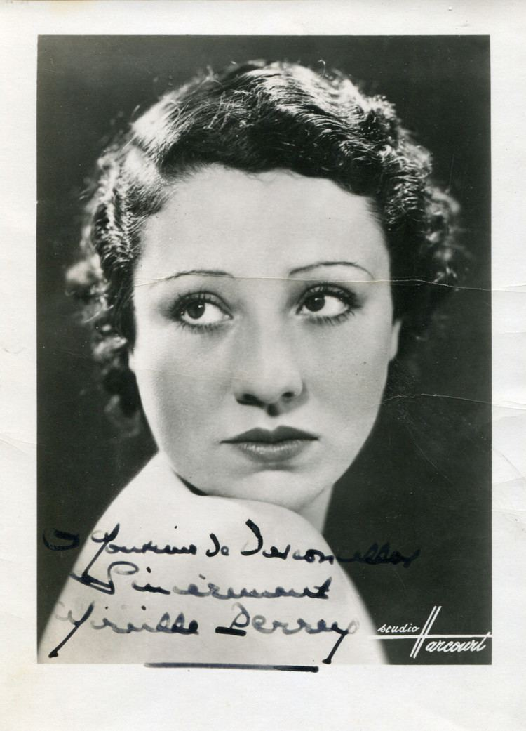 Mireille Perrey Mireille Perrey autograph French actress signed photo eBay