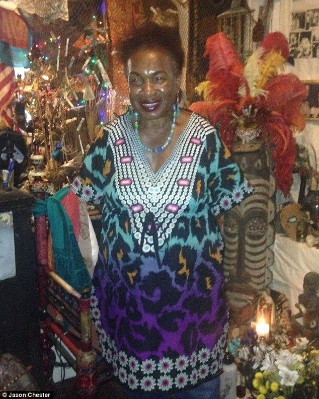 Miriam Chamani As Halloween looms a real life voodoo priestess opens the doors of