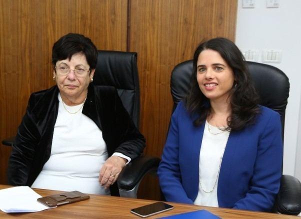 Miriam Naor Ayelet get your gun The Times of Israel