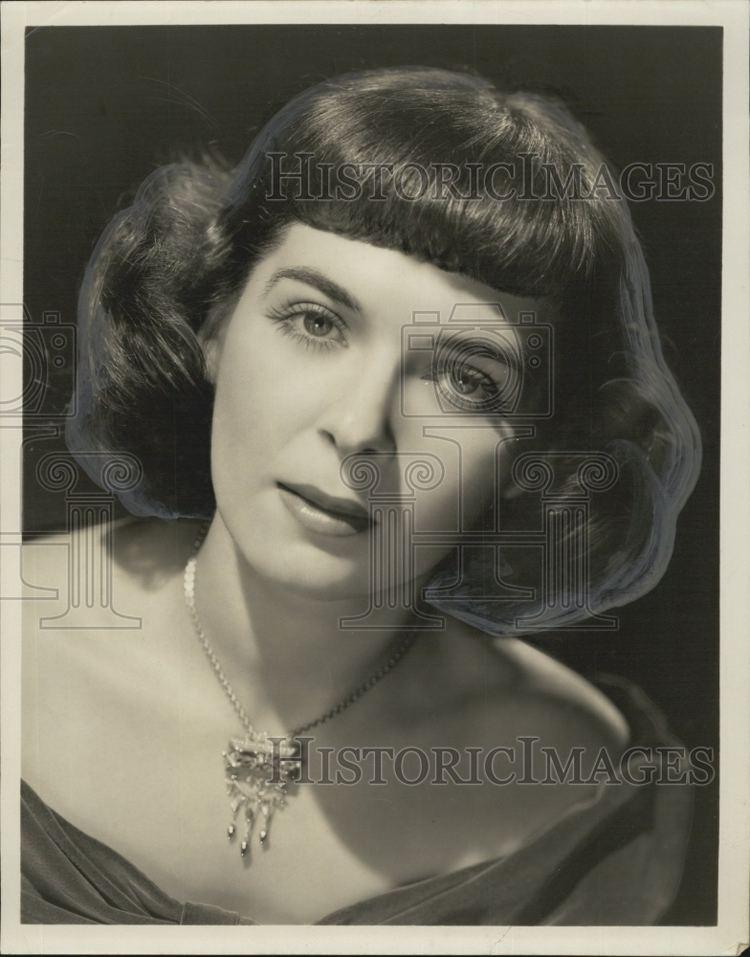 Miriam Wolfe 1945 Press Photo Miriam Wolfe Lets Pretend Actress Cast member
