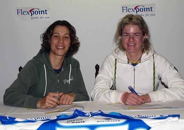 Mirjam Melchers 2009 Team Flexpoint roster complete Cyclingnewscom
