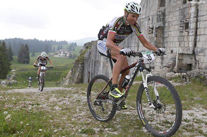 Mirko Celestino Mountain Bike Mirko Celestino vola sul podio della