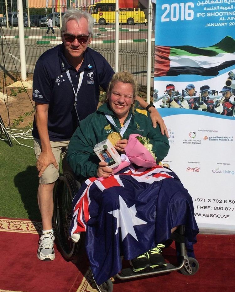 Miro Sipek Natalie Smith and Miro Sipek Australian Paralympic Committee