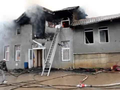 Mironeasa Incendiu la primaria Mironeasa IASI YouTube