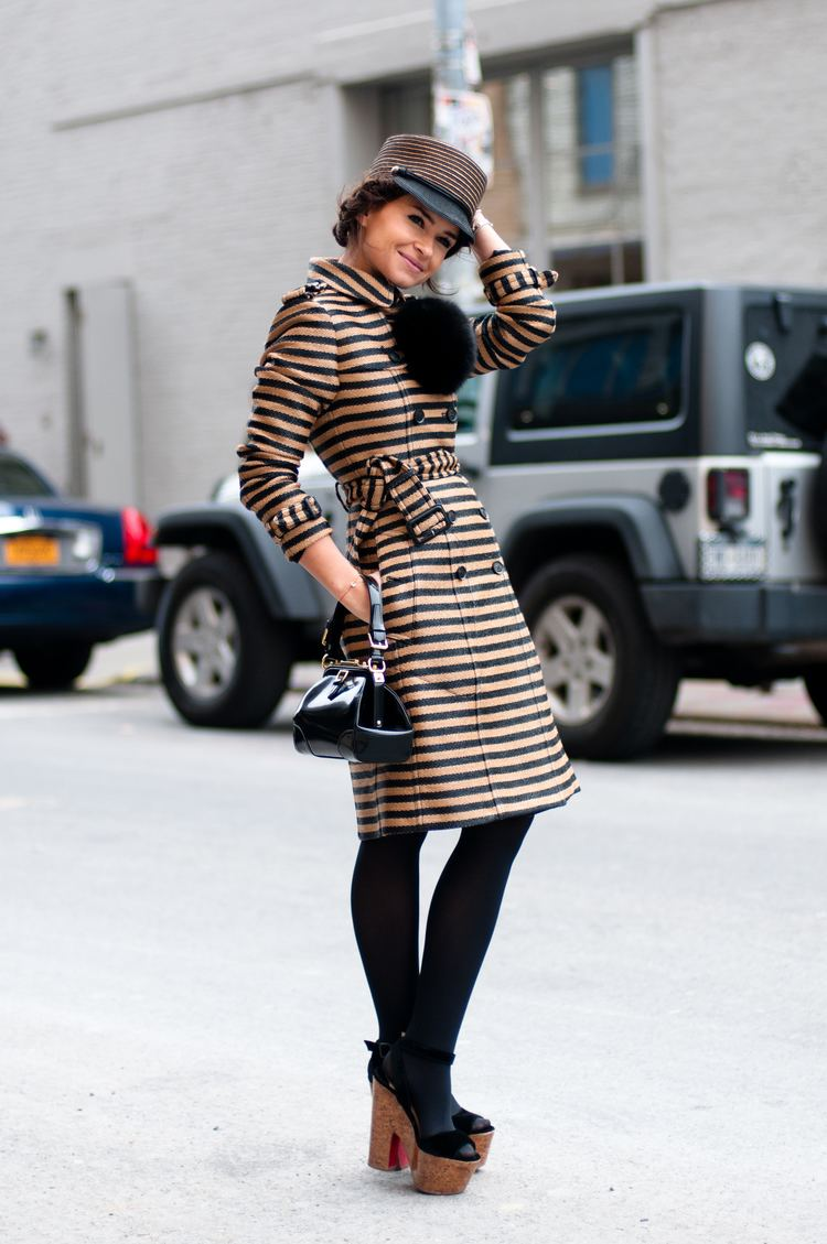Miroslava Duma Style crush Miroslava Duma fake leather blog