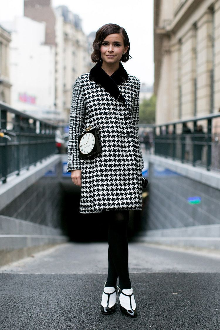 Miroslava Duma Miroslava Duma may have had the chicest play on black and