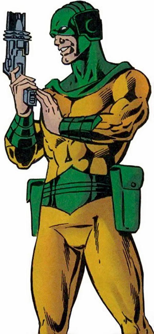 Mirror Master Mirror Master DC Comics Flash rogues Evan McCulloch Profile
