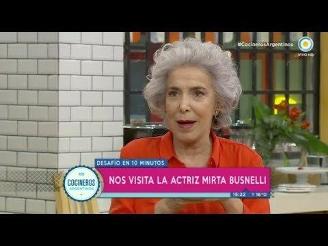 Mirta Busnelli Mirta Busnelli en Cocineros Argentinos YouTube