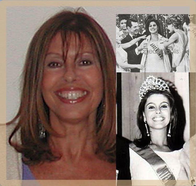 Mirta Massa La bella y dulce MIRTA MASSA gana en Miami el concurso Miss Belleza