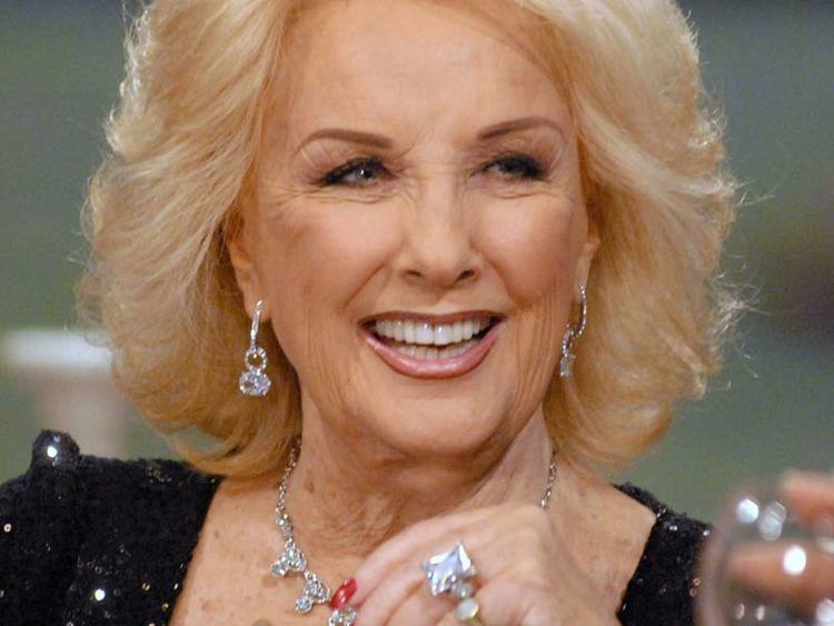 Mirtha Legrand Se devel el misterio Difundieron la edad de Mirtha Legrand