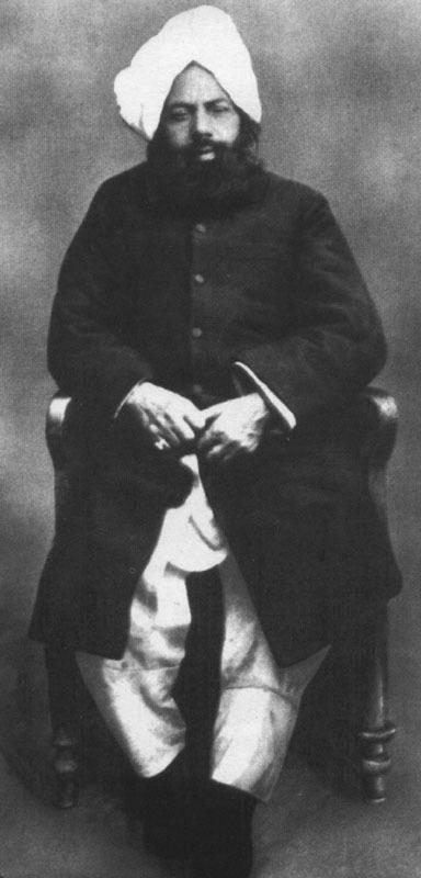 Mirza Ahmad Photograph of Hazrat Mirza Ghulam Ahmad Sahib of Qadian
