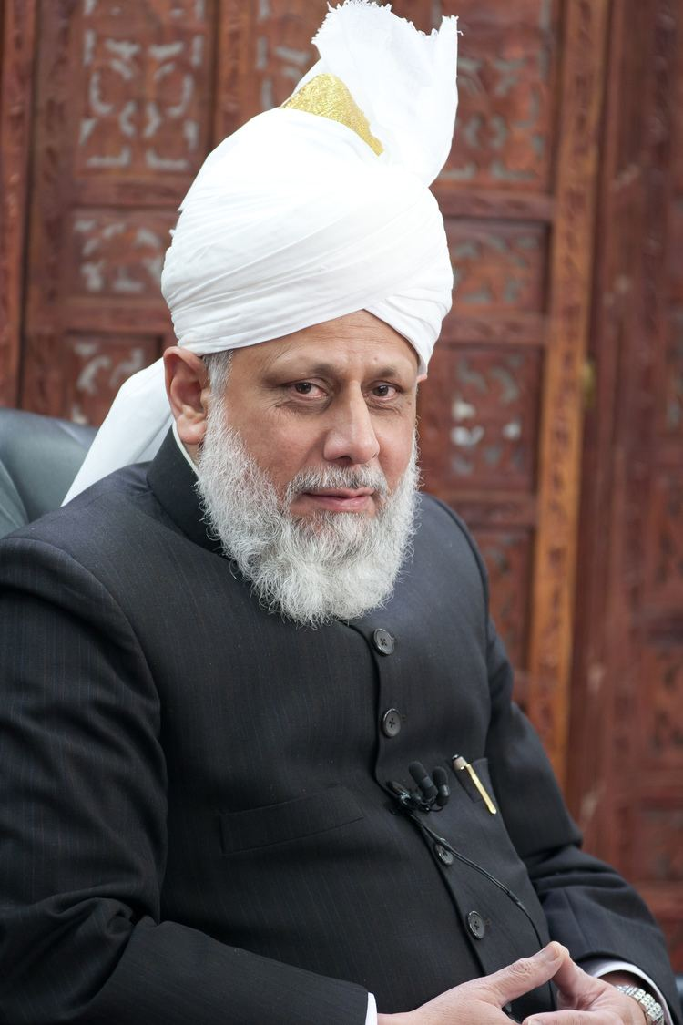 Mirza Masroor Ahmad March 2011 For Christians To be Born Again in Islam