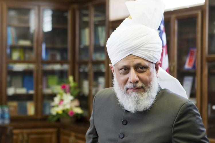 Mirza Masroor Ahmad Mirza Masroor Ahmad homme cl pour la paix dans le monde