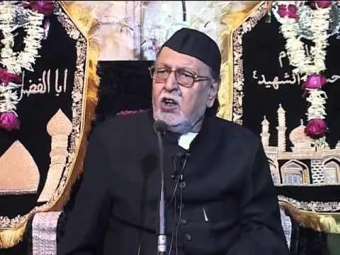 Mirza Mohammed Athar 1st Muharram Insan Mirza Mohammed Athar 1437 Hijri YouTube
