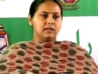 Misa Bharti Misa Bharti39s Rajya Sabha nomination exhibits Lalu39s brand of