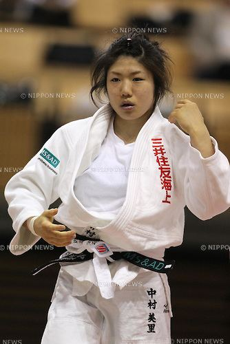 Misato Nakamura The 61st All Japan Industrial Judo Team Competition