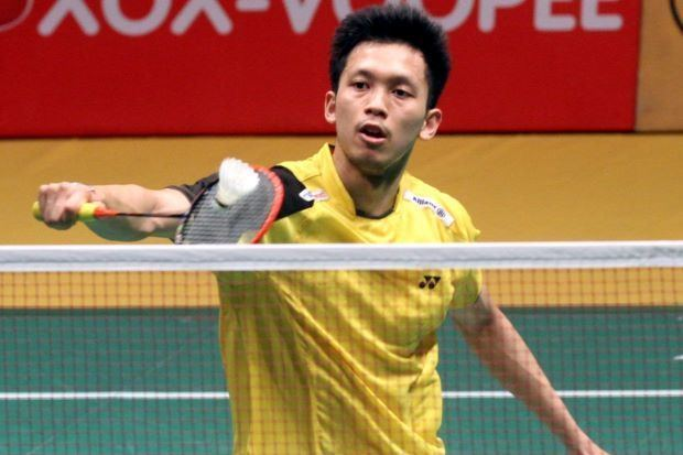 Misbun Ramdan Misbun Badminton AllEngland Ramdan takes a step in the right direction