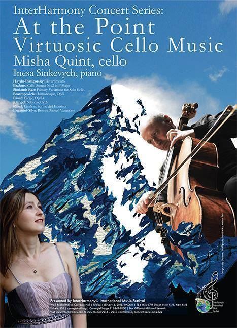 Misha Quint At the Point Misha Quint cello Feb 6 2015