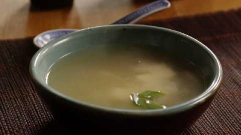 Miso soup Miso Soup Recipe Allrecipescom
