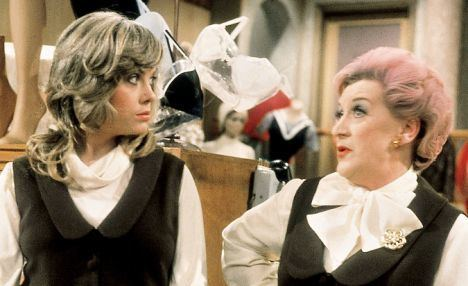 Miss Brahms Wendy Richard the Grace Brothers glamourpuss who had steel behind