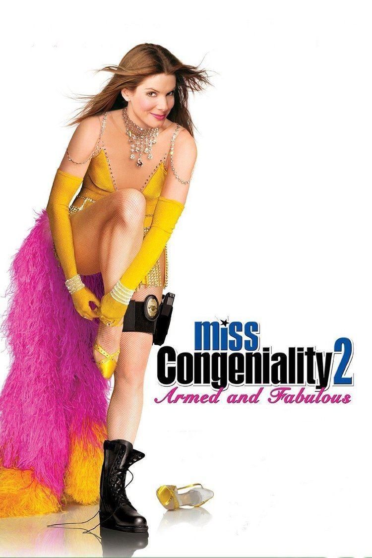 Miss Congeniality 2: Armed and Fabulous wwwgstaticcomtvthumbmovieposters35617p35617