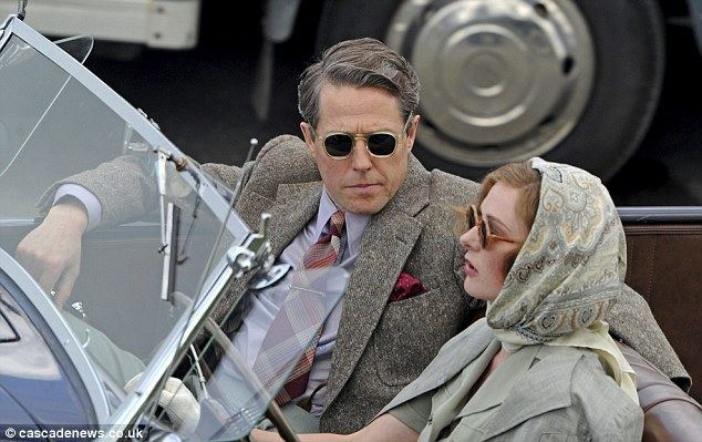 Miss Grant Goes to the Door movie scenes Going for a ride Hugh Grant cut a dapper figure in a 1940s classic car