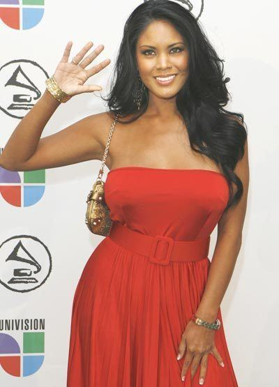 Miss Issa American born Latin singer Miss Issa arrives at the 7th annual Latin