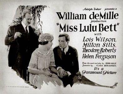 Miss Lulu Bett (film) movie poster