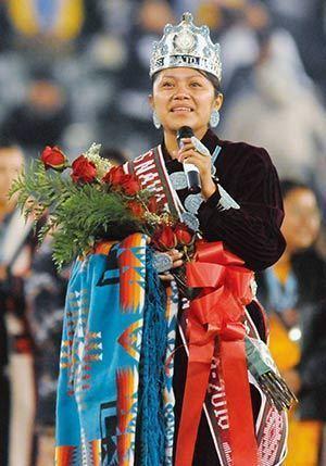 Miss Navajo The Navajo Times Online Round Rock native crowned Miss Navajo Nation