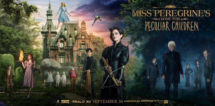 Miss Peregrine's Home for Peculiar Children (film) Miss Peregrines Home for Peculiar Children Movie Posters Collider