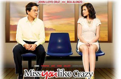 Miss You like Crazy (film) Miss You Like Crazy Movie Bea Alonzo and John Lloyd Cruz GagayMD