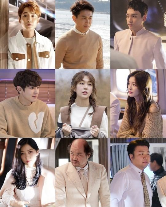 Missing 9 Character Stills For quotMissing 9quot Released Including EXO39s Chanyeol